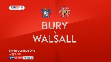 Bury 1-0 Walsall