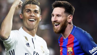 How much are Ronaldo & Messi?