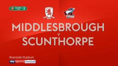 Middlesbrough 3-0 Scunthorpe