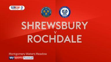 Shrewsbury 3-2 Rochdale