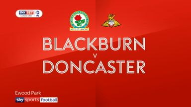 Blackburn 1-3 Doncaster
