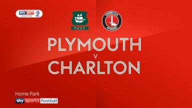 Plymouth 2-0 Charlton