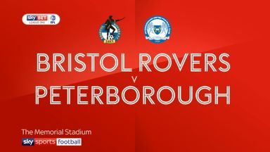 Bristol Rovers 1-4 Peterborough