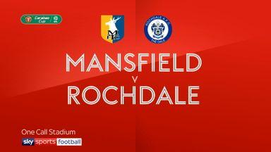 Mansfield 0-1 Rochdale