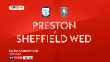 Preston 1-0 Sheffield Wednesday