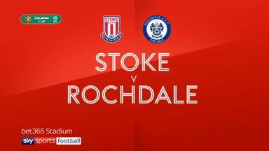 Stoke 4-0 Rochdale