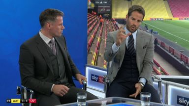 Carra and Redknapp's heated debate