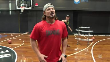 WWE Superstar basketball shootout
