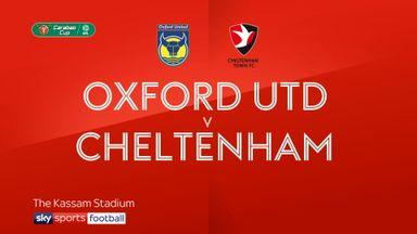 Oxford 3-4 Cheltenham (AET)