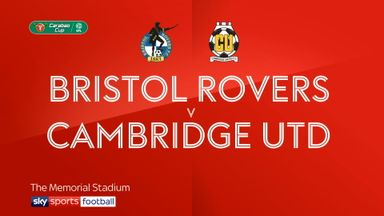 Bristol Rovers 4-1 Cambridge