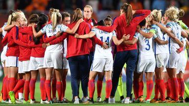 England 'devastated' by Dutch defeat