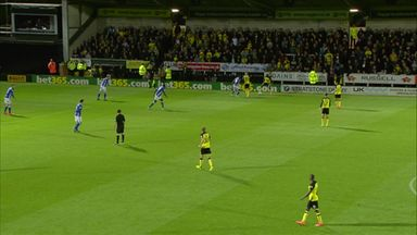 Sordell fires Burton level
