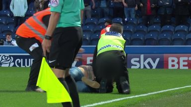 Police arrest five at Ewood Park