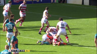 Acrobatic Shaw scores for Hull KR