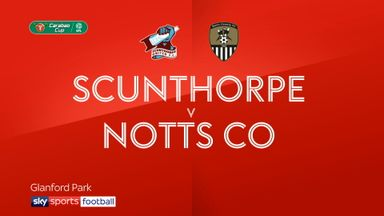 Scunthorpe 3-3 Notts County (AET) 6-5 Pens
