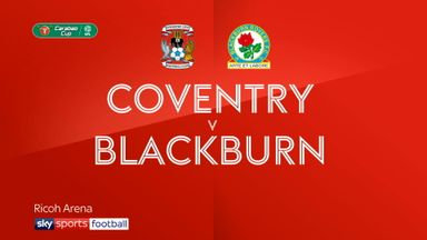 Coventry 1-3 Blackburn