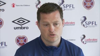 Daly unsure on Hearts future