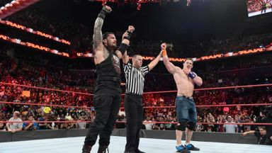 Cena & Reigns forge unlikely alliance