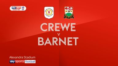Crewe 1-0 Barnet