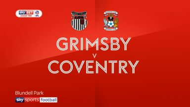 Grimsby 0-2 Coventry