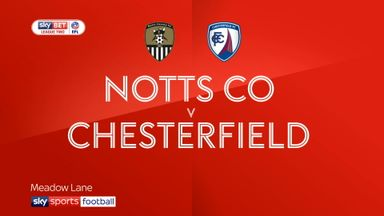 Notts Co 2-0 Chesterfield