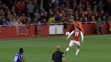 Did Ozil handball?