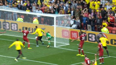 Was Watford's equaliser offside?