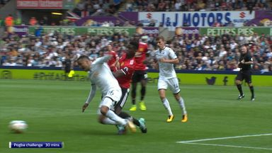 Should Pogba have seen red?