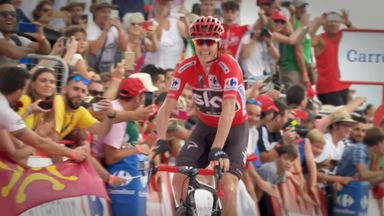 Froome extends Vuelta lead
