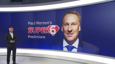 Merse's Super 6 predictions