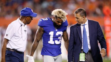 OBJ suffers injury scare