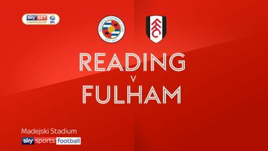 Reading 1-1 Fulham