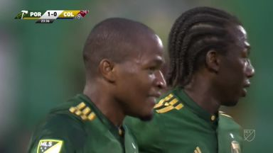 Stunning chip wins it for Timbers
