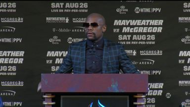 Mayweather: Nobody walks me down