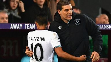 'Lanzini happy at West Ham'