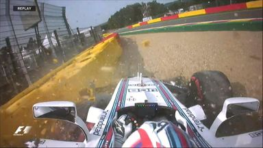 Massa's P1 crash