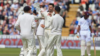 England v WI: 1st Test, Day 3 Highlights