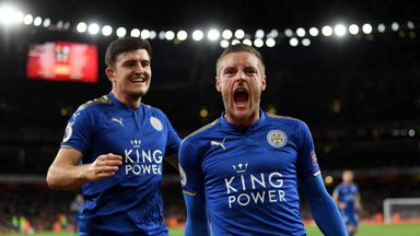Vardy at the double
