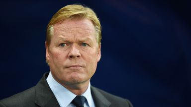 Koeman: Fear created by pressure to win