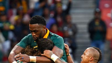 Springboks: 5 from 5