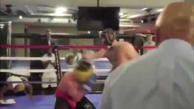 McGregor spars with Malignaggi