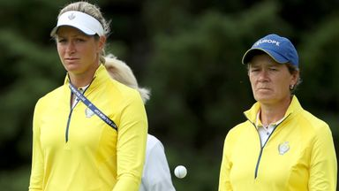 Pettersen out of Solheim Cup