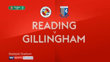Reading 2-0 Gillingham