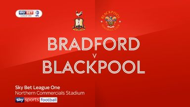 Bradford 2-1 Blackpool