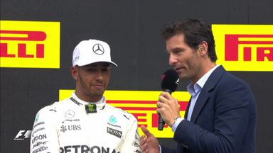 Belgium GP: Top 3 interviews