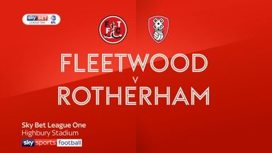 Fleetwood 2-0 Rotherham