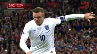 Rooney's England career