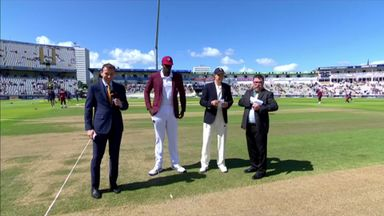 England v Windies 1st Test - The Toss