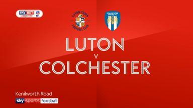 Luton 3-0 Colchester