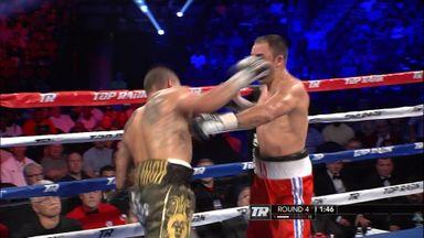 Alvarado wins by huge KO